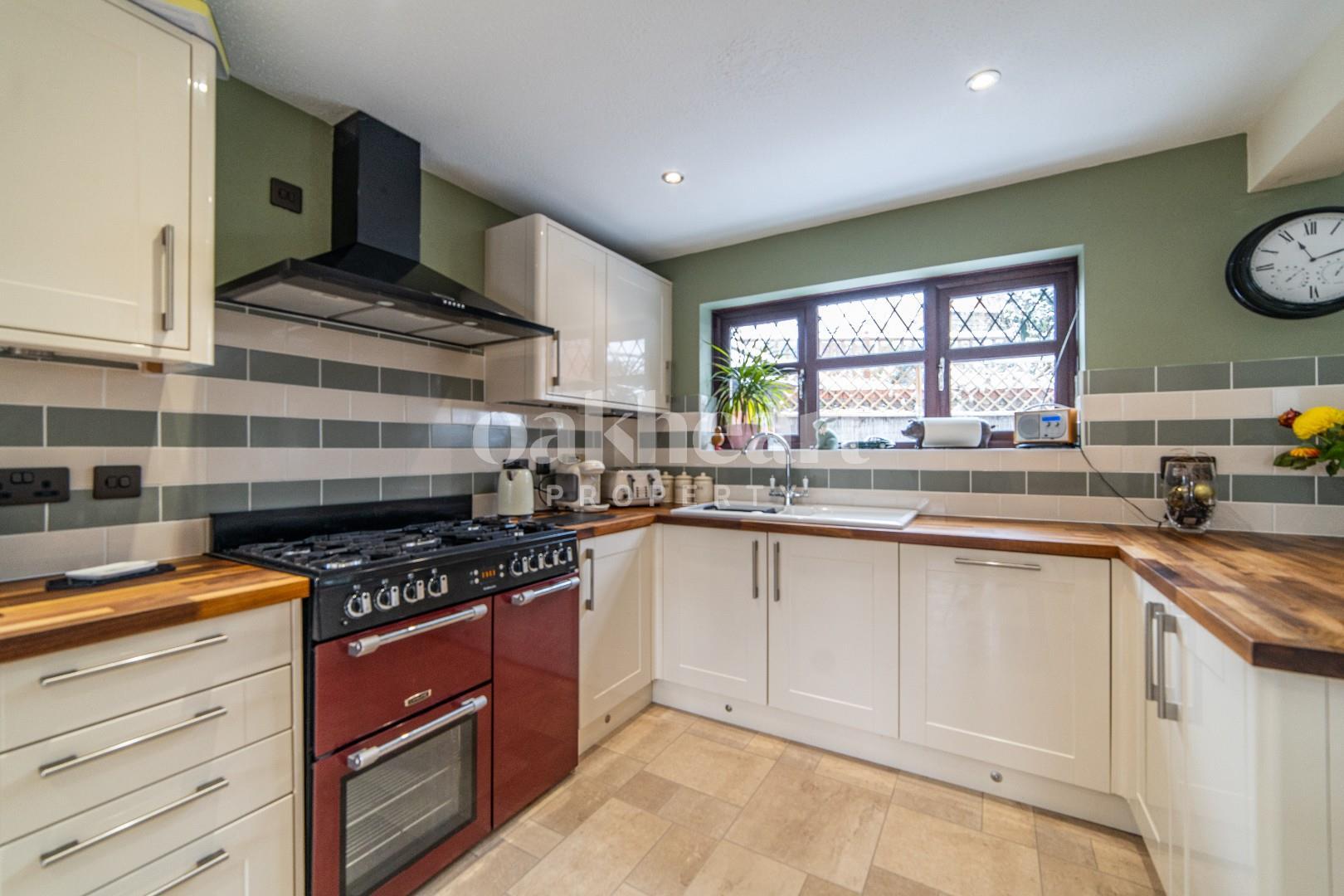 Open Plan Kitchen Area